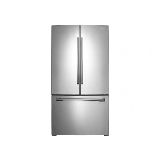 26 CB French Door Stainless Steel Refrigerator Samsung RF26HFENDSL
